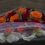 Memorial flowers - Gisozi Genocide memorial, Kigali